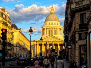 Panthéon in late Evening Sun